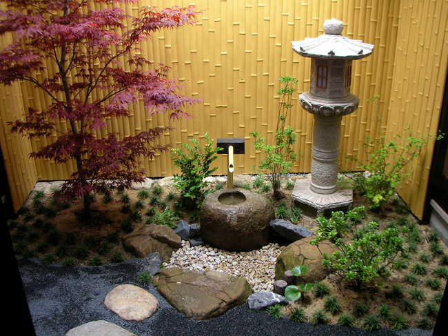 for Creating a japanese garden in a small space