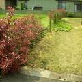 木柱と植栽の取り合わせ画像3