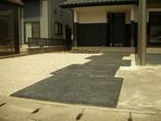 スタンプコンクリート(ブラック)