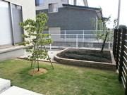菜園と花壇