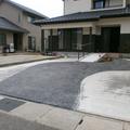 アプローチはスタンプコンクリート画像4