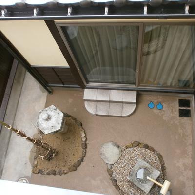 八尾町の坪庭画像1