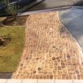 芝生とスタンプコンクリートのマチィング画像4