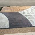 二種類のスタンプコンクリート画像3