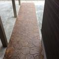 真っ直ぐなスタンプコンクリート画像2