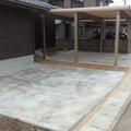 真っ直ぐなスタンプコンクリート画像4