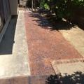 除草対策で2種類のスタンプコンクリート画像3