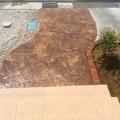 スタンプコンクリートと花壇の相性画像4