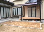 除草対策にスタンプコンクリート